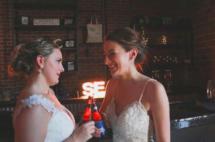 Amanda + Coleen wedding